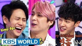 getlinkyoutube.com-Hello Counselor - Gikwang, Yoseop, Junhyung,Dongwoon of BEAST! (2014.06.30)