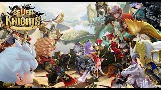 getlinkyoutube.com-Seven Knights #10 PVP (Arena 4,600+) ไฝว้กันโคตรมันส์ อารีน่า 5 ตารวด !!! | xBiGx