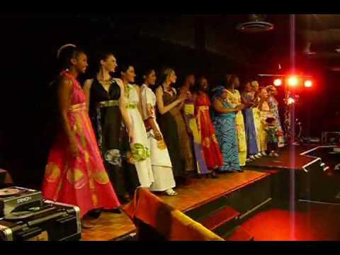 Défilé de mode africaine