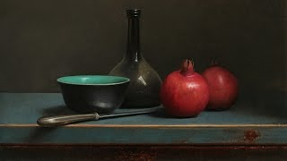 getlinkyoutube.com-Old master inspired still life painting