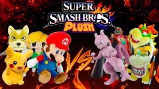 getlinkyoutube.com-Super Smash Bros. Plush #5: The Tournament! (1/4)