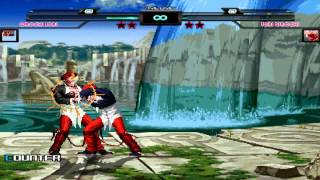 getlinkyoutube.com-MUGEN - Orochi Iori Vs Iori Orochi
