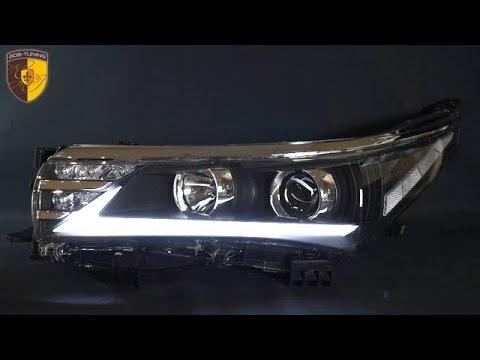 Тюнинг фары Тойота Королла / Headlights Toyota Corolla E160 E170 Lexus Style