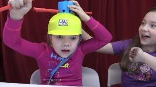 getlinkyoutube.com-Wet Head ICE WATER challenge surprise game! | Time For Toys | Babyteeth4
