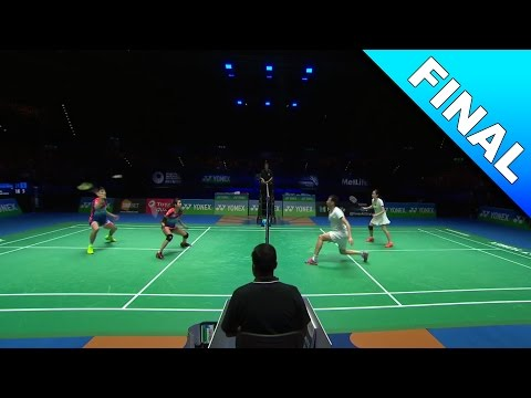 Yonex All England Open 2017 | Badminton F | Chan/Goh vs Lu/Huang [HD]
