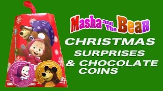 getlinkyoutube.com-MASHA AND THE BEAR CHRISTMAS SURPRISES PANDORINO MASHA E ORSO маша и медведь рождествомماشا و الدب