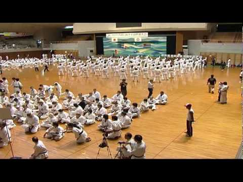 Okinawa Traditional Karatedo Kobudo World Tournament 2009. Part 2. 1/3