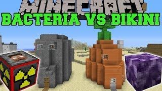 getlinkyoutube.com-BACTERIA & EXPLOSIVES+ MODS VS BIKINI BOTTOM - Minecraft Mods Vs Maps (Explosives & Viruses)