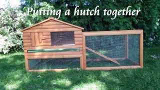 getlinkyoutube.com-Putting a rabbit hutch together
