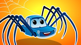 getlinkyoutube.com-Zeek And Friends | Incy Wincy Spider | Kids Car Nursery Rhymes & Songs