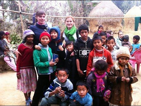 Наталья Руденко-миссионер в Непале.