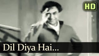 Dil Diya Hai - Sangram Songs - Nalini Jaywant - Ashok Kumar
