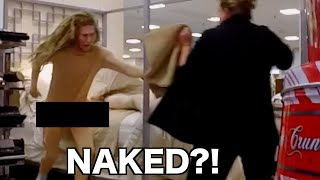getlinkyoutube.com-STREAKING Out Of Beds!!! Kicked Out Of Mall For Black Friday Prank