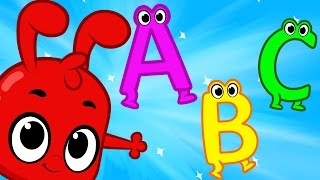 getlinkyoutube.com-Learn ABC's with Morphle - Alphabet letters education for kids