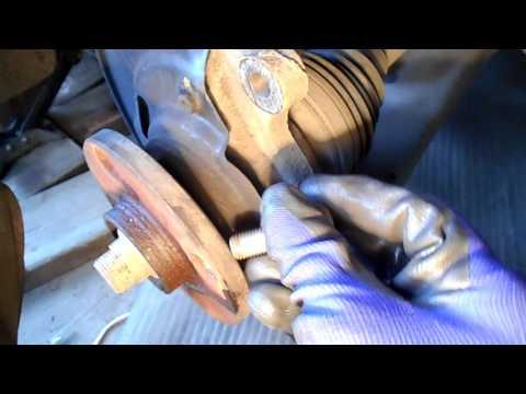 Как поменять шпильки ступицы на тойота королла