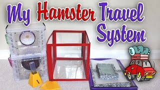 getlinkyoutube.com-My Hamster Travel System by HAMMY TIME