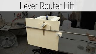 getlinkyoutube.com-Quick Action Lever Router Lift - 187