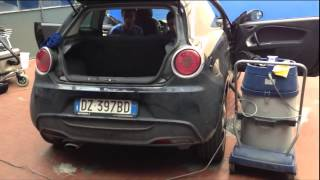 getlinkyoutube.com-Pulizia a Vapore Auto molto sporca