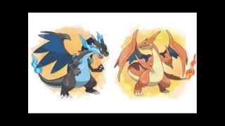 getlinkyoutube.com-Todos los pokemons iniciales(algunas mega evoluciones)