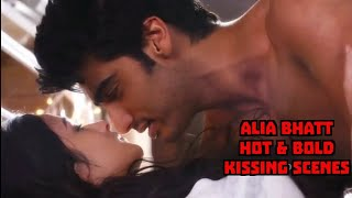 Alia Bhatt hot kissing scene compilation // hot kiss bollywood // hot n sexy // glamour width=