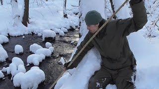Praktische Anwendung eines Fisch-Speers (Fischfang, Angeln)