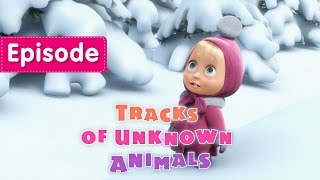 getlinkyoutube.com-Masha and The Bear - Tracks of unknown Animals (Episode 4)