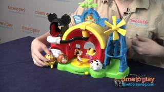 getlinkyoutube.com-Mickey Mouse Clubhouse Barnyard Dance Farm Playset from Fisher-Price