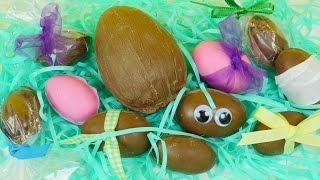 getlinkyoutube.com-Homemade Kinder Egg Maker   DIY Chocolate Toy Surprise Eggs For Easter DCTC How To Tutorial