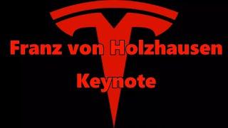 Tesla Franz Von Holzhausen Keynote Address 2017 Audio Only W/Subs