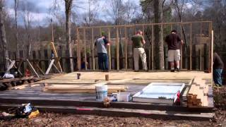 """getlinkyoutube.com-Building a small """"vacation"""" house in 2 days RIGHT!!!! (part"""