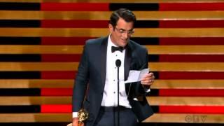 "getlinkyoutube.com-Ty Burrell wins an Emmy for ""Modern Family"" 2014"