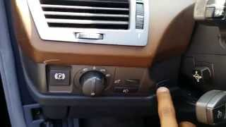 getlinkyoutube.com-BMW 745 750 - Dash Wood Trim & Headlight Switch Removal Part 1