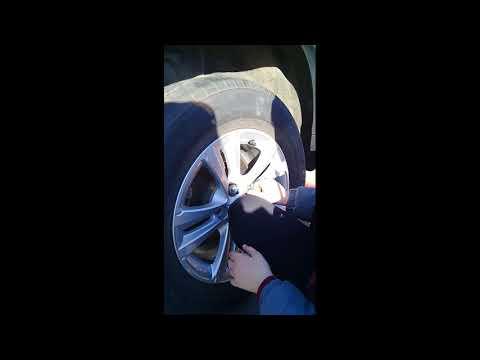 Замена колеса Пежо 4008 (11 лет)