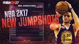 getlinkyoutube.com-NBA 2K17 NEW CUSTOM JUMPSHOTS ! | BEST 2K17