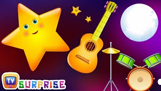 getlinkyoutube.com-Surprise Eggs Nursery Rhymes Toys | Twinkle Twinkle Little Star | Learn Colours | ChuChu TV