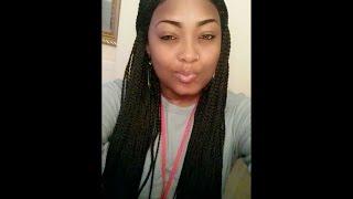 getlinkyoutube.com-Sensationnel Senegal Box Braids Lace Wig