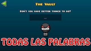"getlinkyoutube.com-Geometry Dash 2.0 - Desbloquear Los Iconos Secretos De ""The Vault"""