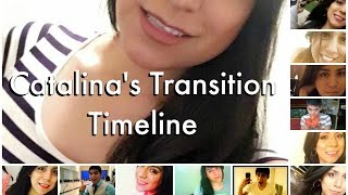 getlinkyoutube.com-Catalina's Transition Timeline | MtF | Transgender