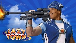 getlinkyoutube.com-LAZY TOWN FILTHY DEATHMATCH