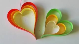 getlinkyoutube.com-Adornos para colgar - Móvil de corazones súper fácil! - Manualidades para todos