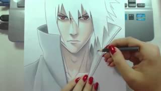 Speed Drawing Challenge #2 (Uchiha Sasuke)