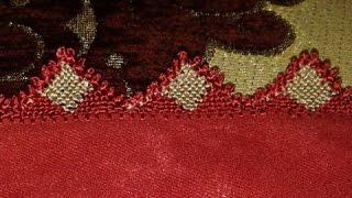 getlinkyoutube.com-خياطة الضرس في الراندة بشكل المثلثات - أم عمران randa