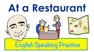 getlinkyoutube.com-At a Restaurant    English Speaking Practice   ESL   EFL