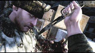 Metro Last Light Redux Gameplay - Stealth Kills & Knife Takedowns