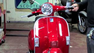getlinkyoutube.com-2015 Vespa PX150 Two Stroke Scooter