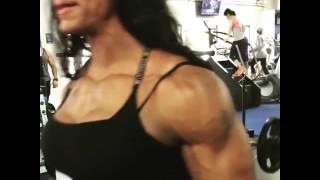 getlinkyoutube.com-FBB Monique Jones Massive Arms Workout