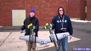 getlinkyoutube.com-Parkzone P-51bl SUPERSONIC upgrade and comparison. SUPER FAST!!!