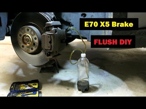 BMW E70 X5 Brake Flush + ABS Bleed DIY