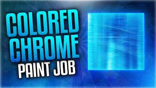 """HOW TO MAKE COLORED CHROME CAMO! - """"Chrome Colored Camo"""" PAINTJOB TUTORIAL! (BO3 CHROME Paint Job)"""
