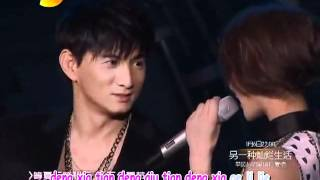 getlinkyoutube.com-Nicky Wu and Liu Shi Shi - Season of Waiting Karaoke